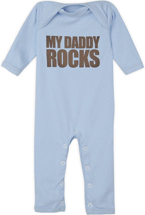Snuglo My Daddy Rocks baby-grow 0-6 months