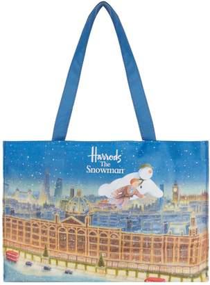 Harrods The Snowman Shoulder PVC Shopper Bag