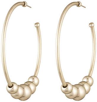 Dannijo Edna Hoop Earrings