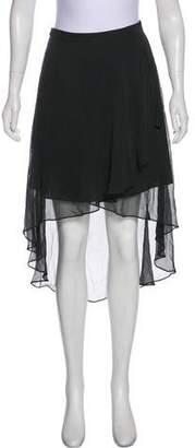 Elizabeth and James High-Low Knee-Length Skirt