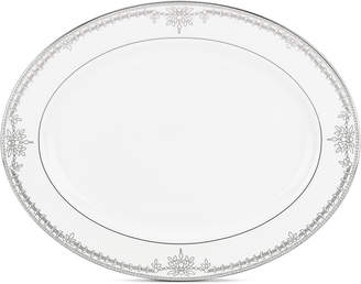 Marchesa by Lenox Empire Pearl Collection Large Platter
