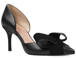 Nine West Mcfally Leather D'Orsay Pumps