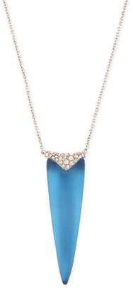 """Alexis Bittar Crystal-Encrusted Spear Pendant Necklace, 32"""""""