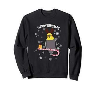 Merry Birbmas Cockatiel Christmas Sweatshirt
