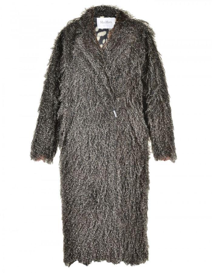 Max MaraMax Mara Coat With Feathers