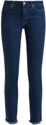 MiH Jeans Daily raw-hem high-rise straight-leg jeans