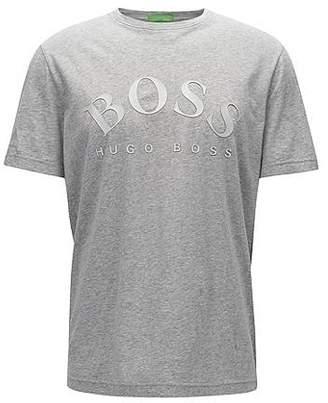 HUGO BOSS Slim-fit logo T-shirt in soft cotton
