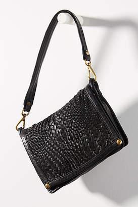 Campomaggi Vanessa Woven Front-Flap Shoulder Bag