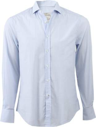 Brunello Cucinelli Print Spread Collar Shirt