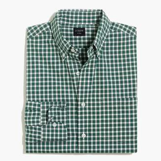 J.Crew Tall slim-fit flex heather washed shirt in check