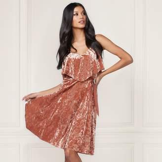 Lauren Conrad Runway Collection Velvet Popover Slip Dress - Women's