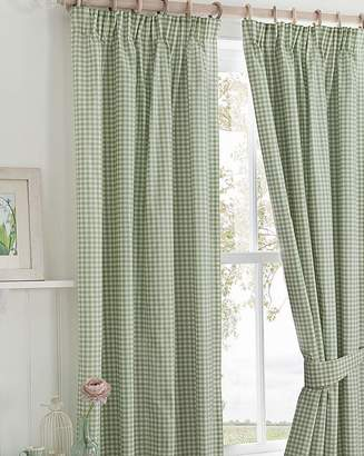 Fashion World Country Journal Pencil Pleat Curtains