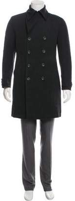Dolce & Gabbana Double Breasted Wool Coat