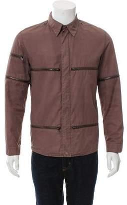 Louis Vuitton Lightweight Zipper-Accented Jacket