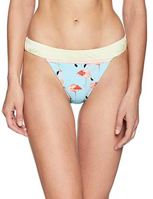 Bikini Lab Women's Banded Hipster Bikini Swimsuit Bottom