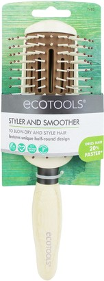 EcoTools Styler & Smoother Half Round Hair Brush