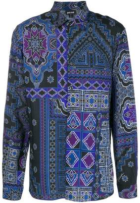 Just Cavalli printed button shirt