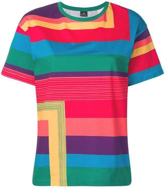 Paul Smith striped oversized T-shirt