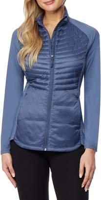 32 Degrees Quilted Mix Media Jacket