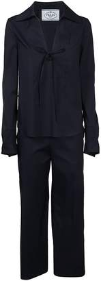 Prada Relaxed-fit Pajama Suit