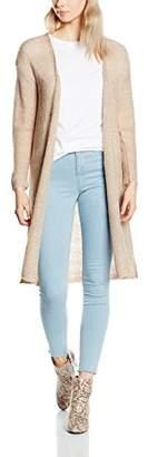 Kaffe Women's Long Sleeve Cardigan - Pink