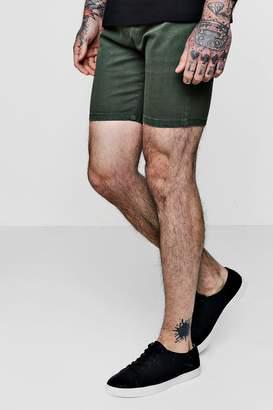 boohoo Super Skinny Fit Denim Shorts