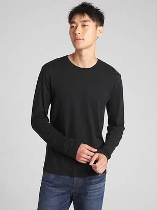 Gap Long Sleeve Crewneck T-Shirt