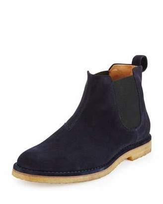Vince Sawyer Suede Chelsea Boot, Navy
