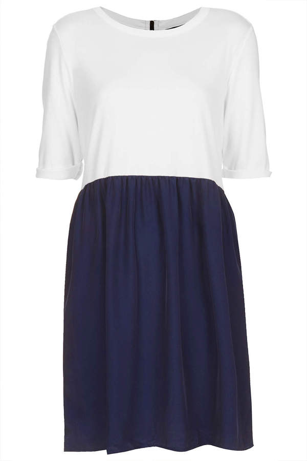 Topshop Two-in-one smock dress
