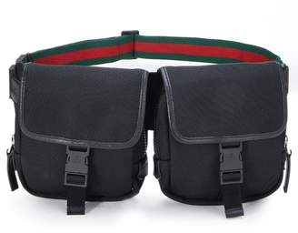 d2a308649 Gucci Green Red Green Signature Web With Black Leather Trim - ShopStyle