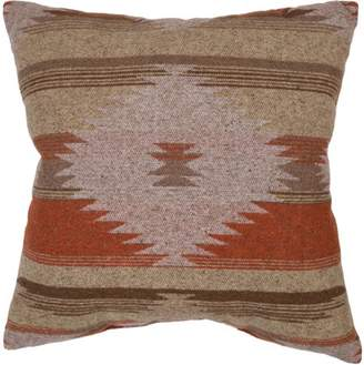 "Better Homes & Gardens Better Homes and Gardens Southwest Diamonds Decorative Throw Pillow, 18"" x 18"", Coral"