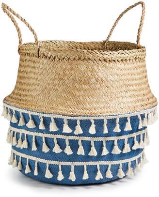 Home Essentials Coastal Fringe Basket