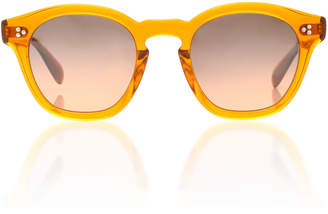 Oliver Peoples Boudreau LA Round Sunglasses