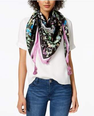 INC International Concepts I.N.C. Garden Poem Square Scarf, Created for Macy's