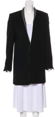 Haider Ackermann Virgin Wool Knee-Length Coat