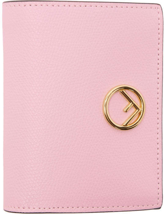 Fendi Pink Small Logo Wallet