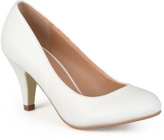 Journee Collection Reetyre Women's Matte High Heels