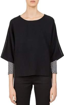 Gerard Darel Catrine Side-Stripe Sweater