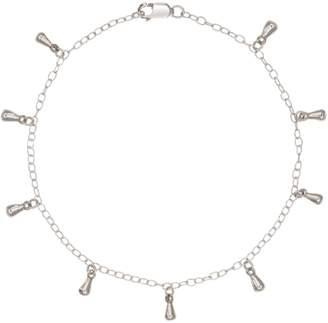 FEATHER+STONE - Silver Teardrop Bracelet