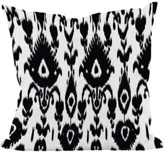 "Generic Simply Daisy 16"" x 16"" Ikat Decorative Print Pillow"