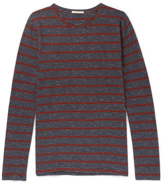 Nudie Jeans Orvar Striped Organic Cotton T-Shirt