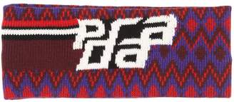 Prada Wool & Cashmere Headband