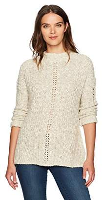 Lucky Brand Women's Open Stitch Pullover Sweater
