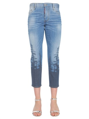 DSQUARED2 Boyfriend Fit Jeans