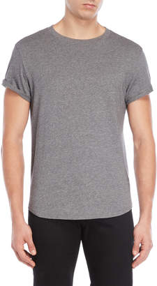G Star Raw Grey Cuffed Tee