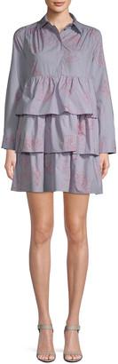 Paul & Joe Sister Ninon Ruffled Shirtdress
