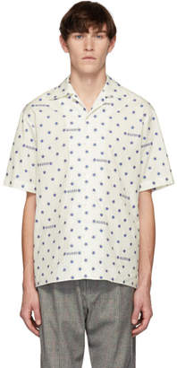 Gucci White Stars Shirt