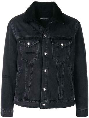 Department 5 distressed jacket