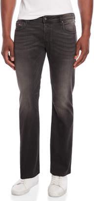 Diesel Black Zatiny Regular-Bootcut Jeans