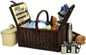 Buckingham Basket for Four with Blanket & Coffee